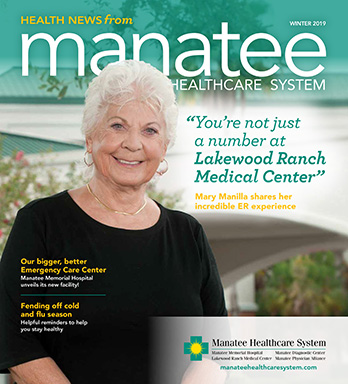 Winter 2019 Health News Magazine Cover